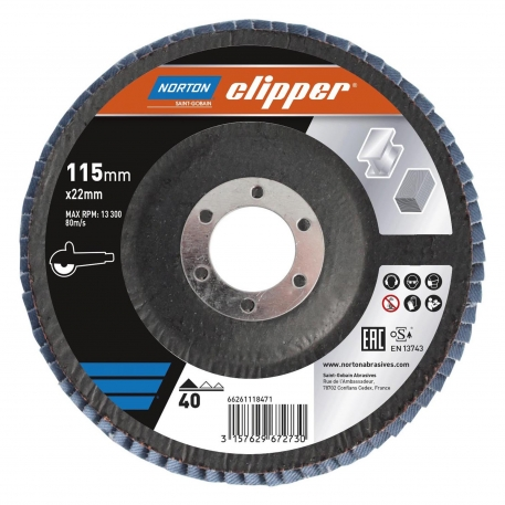 Clipper - Flap Discs Stripping