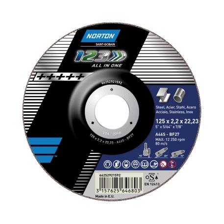 1-2-3 f. Winkelschleifer METALL/ INOX Trennen & Schleifen