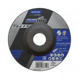 Norton Blue Fire Metal Inox Grinding Wheel Grinding