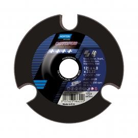 OCTOPUS pour Meuleuse d'angle Gros enlèvement de matière sur métal Inox Gros enlèvement de matière