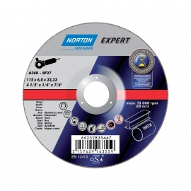 EXPERT for Right-Angle Grinder Grinding on METAL INOX Grinding