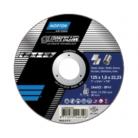 QUANTUM for Right-Angle Grinder Ultra Thin Cut-Off on METAL INOX Ultra Thin Cut-Off