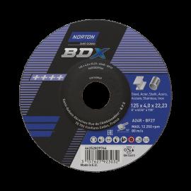 BDX navrondell för vinkelslip på METALL INOX Slipning