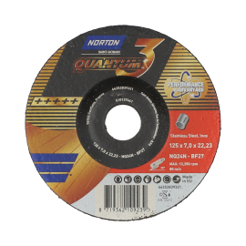 Norton Quantum3 Grinding Wheel for Inox Grinding