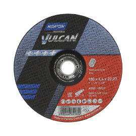 VULCAN for Right-Angle Grinder Grinding on INOX Grinding