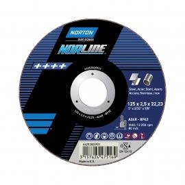 Doorslijpschijf - Norline - Inox Doorslijpen