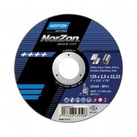 Doorslijpschijf - Norzon Quick Cut - Ultra Dun - Inox Ultra dunne doorslijpers
