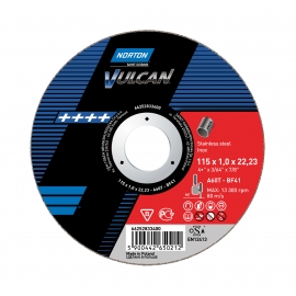 VULCAN for Right-Angle Grinder Cut-Off on INOX Cut-Off