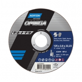 OMEGA for Right-Angle Grinder Cut-Off on INOX Cut-Off