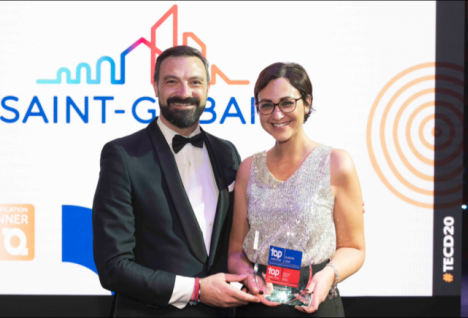 Premiazione Top Employer Saint-Gobain