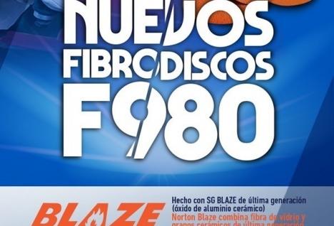 Fibrodiscos F980 con tecnología Blaze