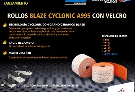 Lanzamiento Rollos Blaze A995