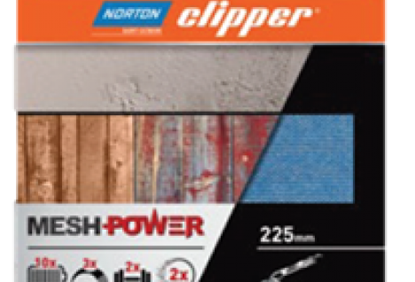 Norton Clipper MeshPower: Powerful dust extraction