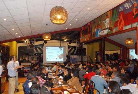 Evento de Norton en Trujillo