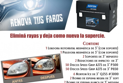 Reparación opticas - Flyer comercial