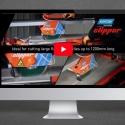 Norton Clipper TR232L seramik kesme demo videosu