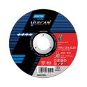 VULCAN para Corte y Eliminación de material con amoladora angular en INOX Corte
