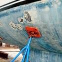 riparare i graffi della barca in gelcoat