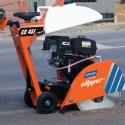 cięcie asfaltu przy użyciu przecinarki jezdnej