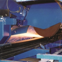 钢坯表面粗磨加工