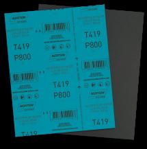 69957365858 LIXA ÁGUA MICROFINA NORTON - T419 - GRÃO 800 (ANG 4)