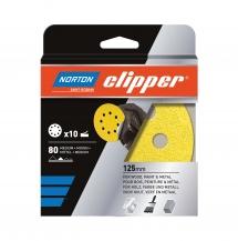 Krążki do szlifierek oscylacyjno-obrotowych Norton Clipper