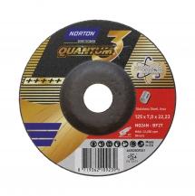 Norton Quantum3 Inox Schruppscheibe