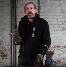 Paul Gray Finishing stainless steel