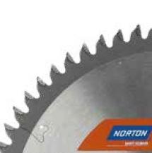 Norton Clipper Verstekzaagbladen voor Aluminium