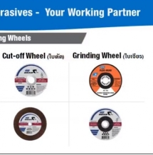 Product presentation - Norton Cut-off and Grinding Wheel!