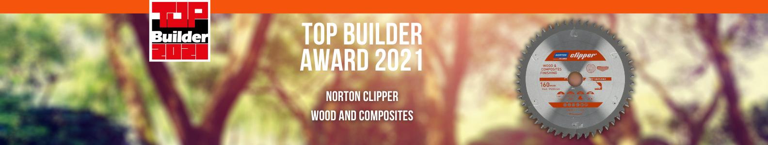 Norton Clipper Top Builder Award 2021