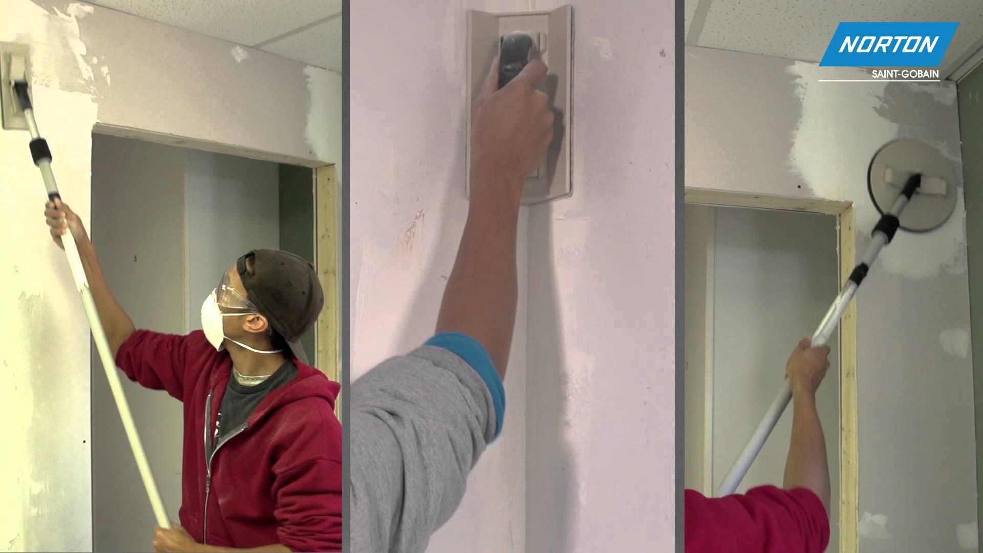 Norton Abrasives Drywall Sanding Tools Video Norton