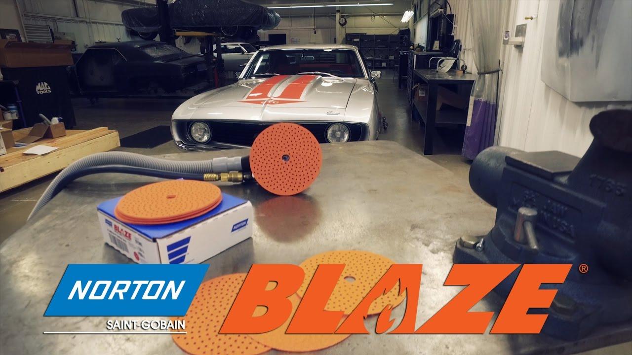 Norton Blaze A995 Multi Air Cyclonic Paper Discs Video