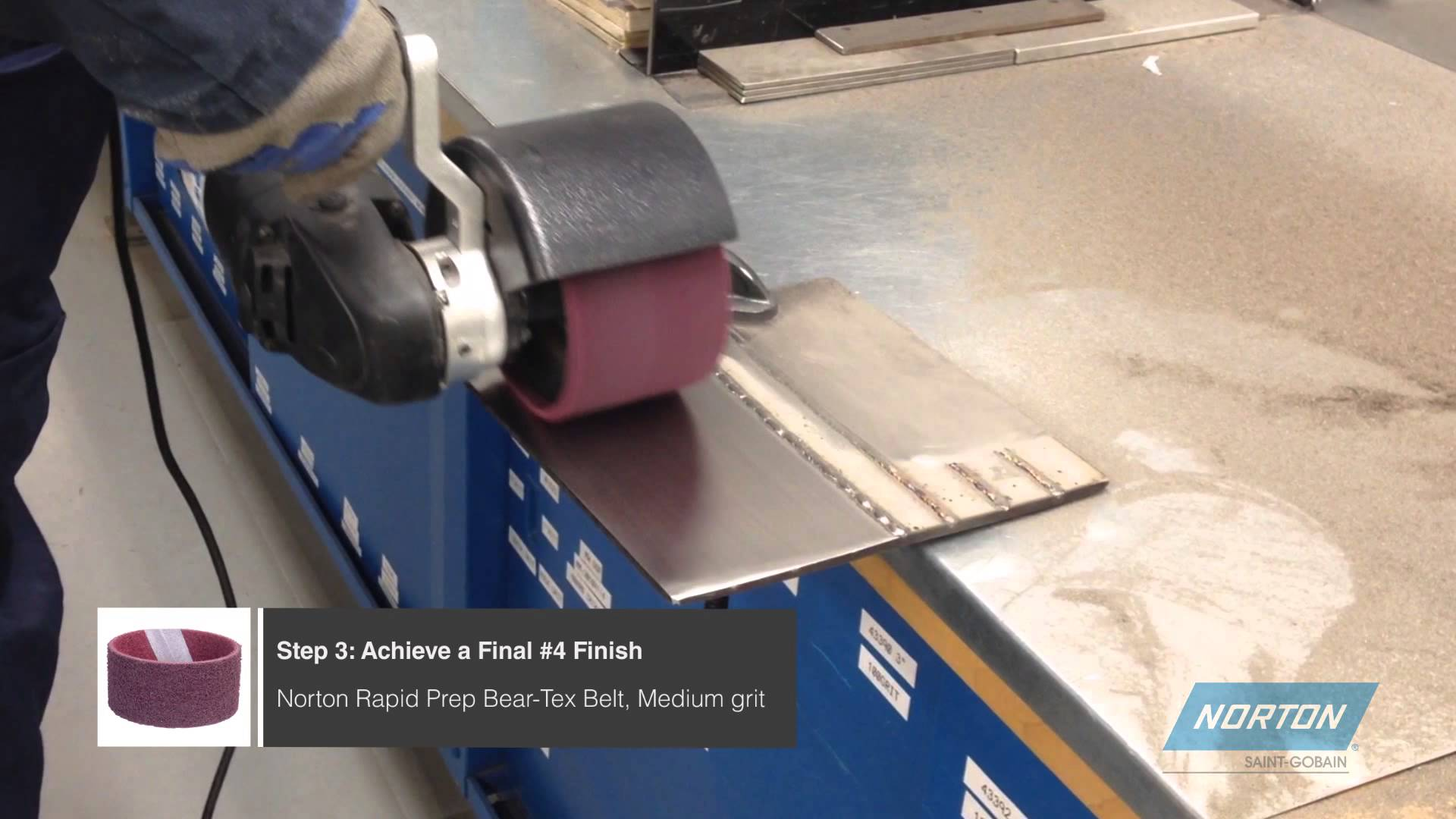 Norton Finishing By The Numbers Video Norton Abrasives
