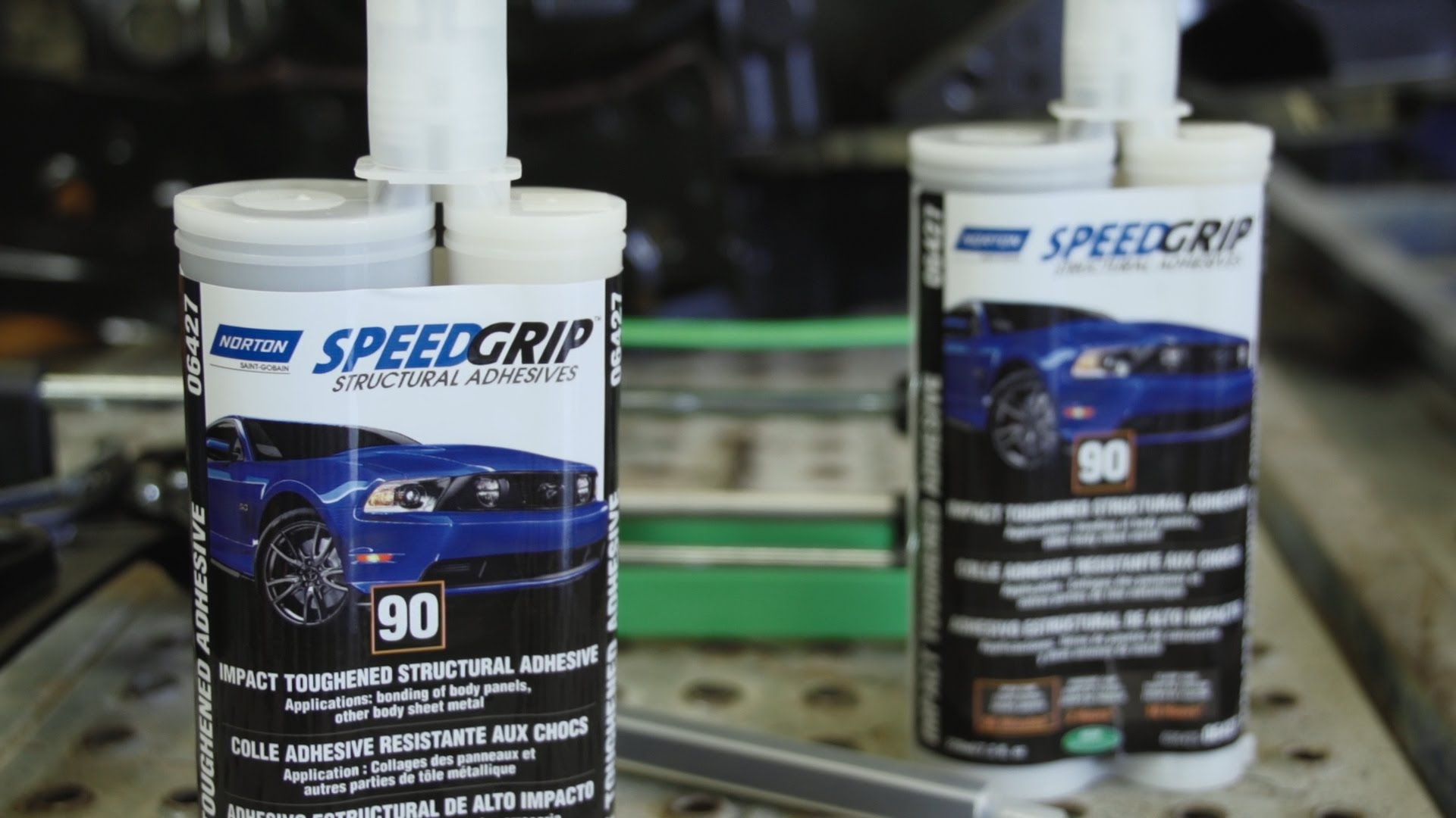 Norton Speedgrip Impact Toughened Structural Adhesives