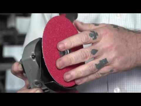Fiber Disc Mounting Video Norton Abrasives