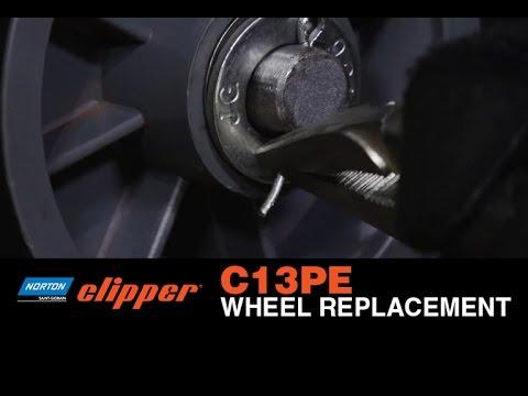 C13pe Wheel Replacement Video Norton Abrasives